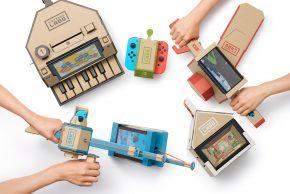 Tech Kids CAMP に新レクリエーション登場!『Nintendo Labo』で新しい遊びを発明しよう♪