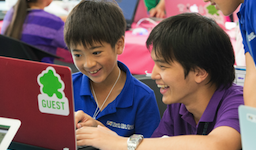 CA Tech Kids、国立情報学研究所に協力し 小学生向けプログラミングワークショップを実施