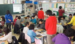 CA Tech Kids、東日本大震災の被災地で小学生向けプログラミング授業を実施 サイバーエージェント・朝日小学生新聞と三者共同で