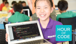 CA Tech Kids、世界的なプログラミング教育推進運動「Hour of Code 2015」に Japan Partnerとして参加 「コンピュータサイエンス教育週間」にあわせ、複数の小学校でプログラミング授業を実施