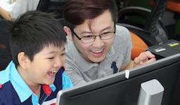 CA Tech Kids とCA ADVANCE VIETNAM、 ベトナム ホーチミンで72名の小学生にプログラミング体験会を開催