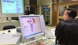 CA Tech Kids、過疎地域でのプログラミング教育を支援 ~鳥取県の地元IT企業アクシスと共同で地域の小学校にて出張プログラミング教室を開催~