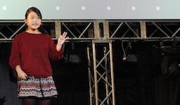 CA Tech Kidsとシーエー・アドバンス、沖縄県の小学生プログラマーが登壇する発表会を開催 小学生6年生の2名が独自に開発したアプリを400名の前でプレゼンテーション