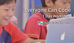 CA Tech Kids、Appleの提供する教育プログラム 「Everyone Can Code」のワークショップを開催