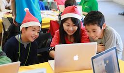 小学生のためのプログラミング体験ワークショップ「Tech Kids CAMP Christmas 2017」を開催